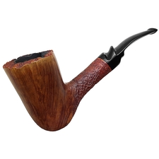 Italian Estates Savinelli Autograph Partially Sandblasted Freehand (6)
