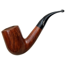 Italian Estates Savinelli Autograph Smooth Bent Billiard (6) (6mm)