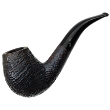 Italian Estates Savinelli Autograph Sandblasted Bent Egg (4) (6mm)