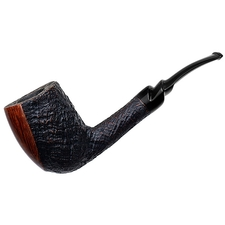 Italian Estates Savinelli Autograph Partially Sandblasted Bent Billiard (5)