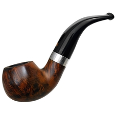 Italian Estates Calibano Smooth Bent Apple with Silver (Unsmoked)