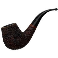 Italian Estates Tonino Jacono Rusticated Bent Billiard (Knight)