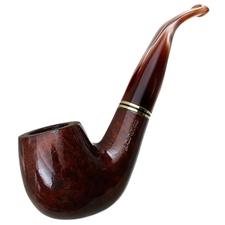 Italian Estates La Rocca Smooth Bent Billiard (Unsmoked)