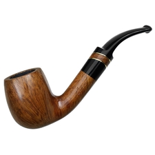Italian Estates Luciano Smooth Bent Billiard (X) (A0350) (Unsmoked)