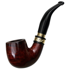 Italian Estates Molina Smooth Bent Billiard (81007) (Unsmoked)