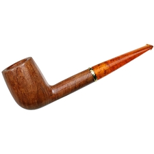 Italian Estates Savinelli Punto Oro Smooth with 18K Gold Band (111 KS) (Unsmoked)