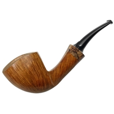 Italian Estates Il Duca Conte Smooth Bent Dublin with Olivewood (DDD) (Unsmoked)
