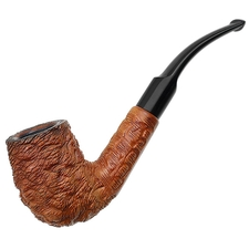 Italian Estates Lorenzo Varallo Rusticated Bent Billiard (754)