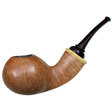Italian Estates Gabriele Smooth Bent Apple with Boxwood (Whale) (Unsmoked)