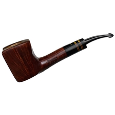 Italian Estates Pipa Croci Artistica Smooth Paneled Bent Dublin (Unsmoked)