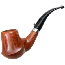 Italian Estates L'Anatra Smooth Freehand with Silver (Three Egg) (Unsmoked)