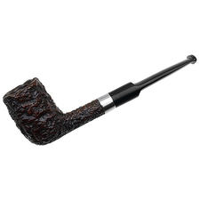 Italian Estates Castello Sea Rock Briar Billiard (SC) (16P) (Aftermarket Band Repair) (Replacement Stem)