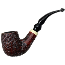 Italian Estates La Rocca Vita Rusticated Bent Billiard (Unsmoked)