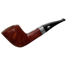 Italian Estates Brebbia M.P.B. Smooth Paneled Bent Dublin (9mm) (2009) (Unsmoked)