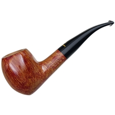 Italian Estates Pipa Croci Smooth Bent Acorn (1) (Unsmoked)