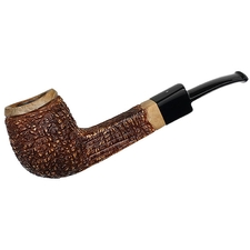 Italian Estates Mastro Beraldi Rusticated Bent Billiard