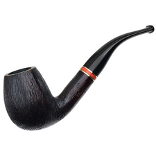 Italian Estates La Rocca Bella Rusticated Bent Billiard (Unsmoked)
