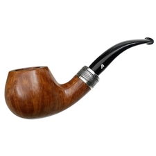 Italian Estates Ascorti Pipe of the Year Smooth Bent Apple with Silver (4/500) (1998) (Unsmoked)