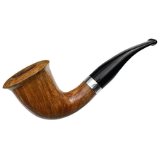 Italian Estates Molina Smooth Calabash with Silver