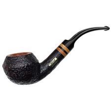 Italian Estates Savinelli Collection 2014 Sandblasted Rhodesian (6mm) (Unsmoked)