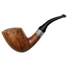Italian Estates Stefano Santambrogio Smooth Bent Dublin with Silver (XX) (9mm) (Unsmoked)