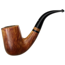 Italian Estates Luigi Viprati La Pipa Smooth Bent Billiard (Two Clovers)
