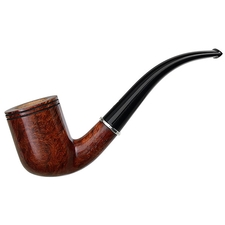 Italian Estates Ser Jacopo Picta Miro Smooth Billiard with Silver (L1) (04) (Unsmoked)