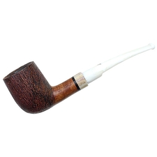 Italian Estates Luigi Viprati Rusticated Bent Billiard