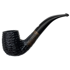 Italian Estates Mastro de Paja Classica Rusticated Bent Billiard (Unsmoked)
