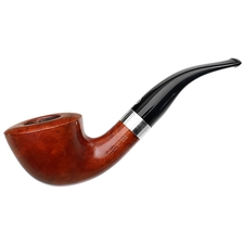 Italian Estates T. Cristiano Metamorfosi Smooth Bent Dublin with Silver (4509) (9mm)