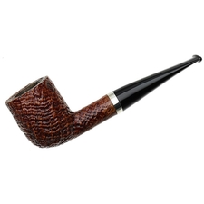 Italian Estates Ser Jacopo Sandblasted Billiard with Silver (S2)