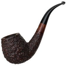 Italian Estates Castello Sea Rock Briar Bent Billiard (GG)