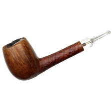 Italian Estates Savinelli Autograph Partially Sandblasted Lovat (4) (Replacement Stem)