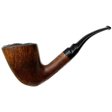 Italian Estates Savinelli Autograph Partially Sandblasted Freehand