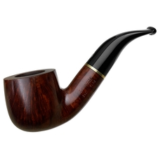 Italian Estates Savinelli Short Smooth Bent Pot (6mm)