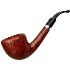 Italian Estates Mastro de Paja Smooth Bent Dublin with Silver (3B) (One Sun) (Unsmoked)