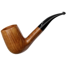Italian Estates Savinelli Autograph Smooth Bent Billiard (6) (6mm) (Unsmoked)