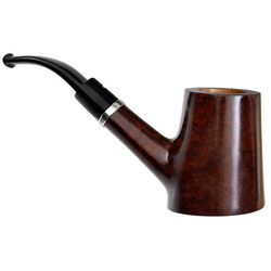 Italian Estates Caminetto Smooth Cherrywood with Silver (03.L.33) (AR) (Unsmoked)
