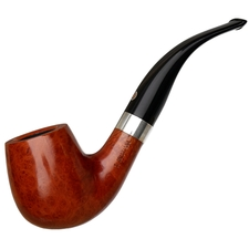 Italian Estates T. Cristiano Metamorfosi Smooth Bent Billiard with Silver (50 A2) (9mm) (Unsmoked)