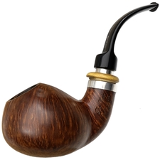 Italian Estates Don Carlos Montana Smooth Bent Apple with Silver and Boxwood (Two Note)