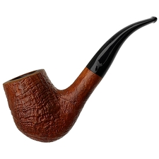 Italian Estates Savinelli Autograph Sandblasted Bent Brandy (6) (N) (6mm)
