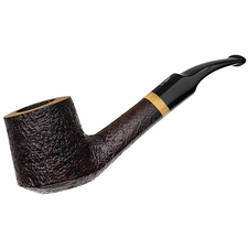 Italian Estates Savinelli Briar Line Bent Billiard (6mm) (Unsmoked)