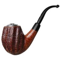 Italian Estates Castello Old Antiquari Bent Egg with Silver Wind Cap Las Vegas IPCPR 2008 (12.20) (Unsmoked)