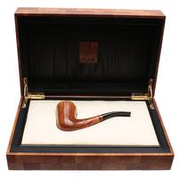Italian Estates Castello Pezzo Unico Collection Great Line Fiammata Bent Dublin (Stellato) (23.10.1975) (with Case) (Unsmoked)