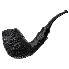Japanese Estates Tsuge Ikebana Sandblasted Bent Egg (203) (2006) (Unsmoked)