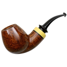 Misc. Estates Sam Cui Smooth Bent Brandy with Boxwood (Unsmoked)
