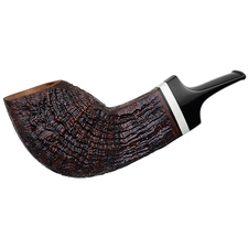 Misc. Estates Konstantin Shekita Sandblasted Bent Egg with Bone (Unsmoked)
