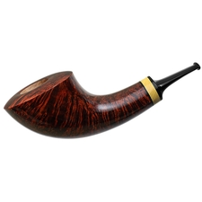 Misc. Estates Gregor Lobnik Smooth Horn with Boxwood (Unsmoked)