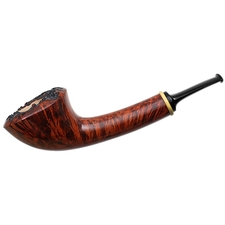 Misc. Estates Gregor Lobnik Smooth Bent Dublin with Boxwood (Unsmoked)