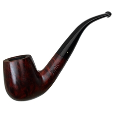 Misc. Estates Brigham Smooth Bent Billiard (124) (Rock Maple Inserts) (Unsmoked)